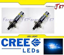 CREE LED 50W H1 BLUE 10000K TWO BULB HEAD LIGHT PLUG PLAY QUALITY REPLACEMENT