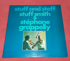 STEPHANE GRAPELLI  ET STUFF SMITH LP FR   STUFF AND STEFF