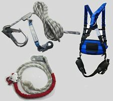 Magen Optic P-61 Contractors Roofers Kit Fall Protection Safety Harness & Ropes