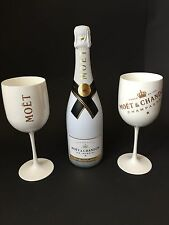 MOËT CHANDON Ice Imperial Champagne 0,75l 12% vol + 2 Ice Imperial Acrylique verres