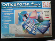 Microcom OfficePorte Voice 33.6 kbps Data/Fax Modem Global Community Focal Point