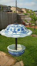 Chinese Porcelain Hanging Bird Feeder