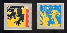"""3306 und 3308 Österreich 2017 Heraldik """" RM 25 und  68 cent"""" sk   **"""