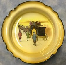Royal Doulton John Peel Fox Coaching Series Ware Scalloped Dish
