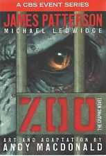 ZOO The Graphic Novel JAMES PATTERSON Science Fiction NEW Comic BOOK Series TV