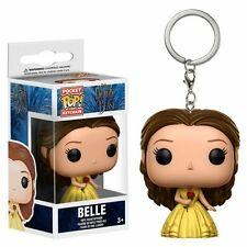 FUNKO DISNEY BEAUTY & THE BEAST BELLE POCKET POP! VINYL FIGURE KEY CHAIN 12396