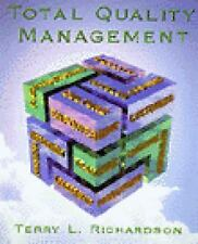 Total Quality Management, Richardson, Terry, Acceptable Book