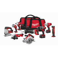 Milwaukee 2696-29 M18 18-Volt Cordless Power Lithium-Ion -Tool Combo Kit