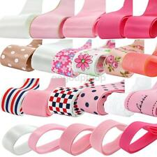 24yds Grosgrain Satin Lace Ribbon DIY Hair Bow Craft Mixed Pattern Width