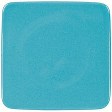 "Waechtersbach Germany 8.25"" x 8.25"" Small Flat Square Plate-Turquoise"