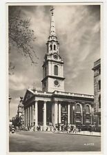 St Martin In The Fields London Vintage RP Postcard 179a