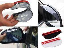 Car GR Rear View 2x Universal Side Mirror Rain Board Sun Visor Shade Shield