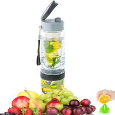 TRITAN INTERFUSE 700ML FRUIT INFUSION INFUSING INFUSER WATER CITRUS BOTTLE SPORT
