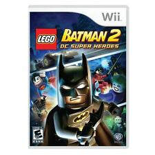 LEGO Batman 2 DC Super Heroes RE-SEALED Nintendo Wii & WII U GAME