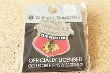2015 Western Conference Champions pin NHL Chicago Blackhawks wn
