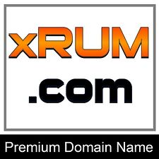 XRUM .COM 3 4 5 LETTER AGED PREMIUM DOMAIN NAME SALES HISTORY MANY TAKEN LLLL