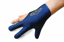 Champion Sport Dark Blue Right Handed Billiards Glove For Pool Cue Stick