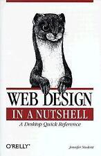 Web Design in a Nutshell by Jennifer Niederst (Paperback)