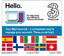 Sim card INTERNET in European Union, USA, Australia, Norway, Switzerland, Israel