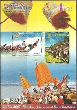 Taiwan - Drachenbootrennen Block 119 postfrisch 2005 Mi. 3062-3063