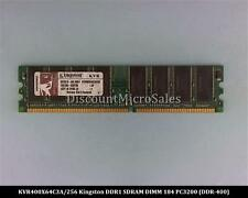 Kingston KVR400X64C3A/256 DDR 256MB PC-3200 Non ECC 400Mhz RAM Memory