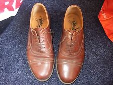 Gents Hobbs brown lace up shoes size 8