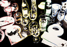 After the Party 1979 by Andy Warhol A3 High Quality Canvas Art Print