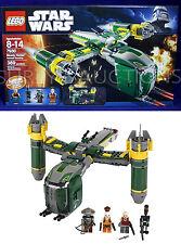 New BOUNTY HUNTER ASSAULT GUNSHIP Star Wars Lego 7930 - 389 Pc - SUGI Aurra EMBO