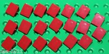 Lego Dark Red Slope 1x1 20 pieces NEW!!!
