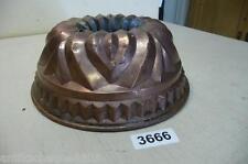 3666. Alte Kupfer Backform Old copper baking pan