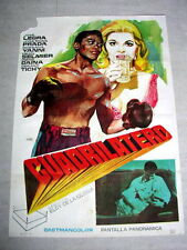 QUADRILATERAL Original BOXING Movie Poster JOSE LEGRA ROSANNA YANNI GERARD TICHY