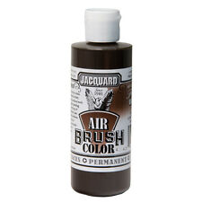 Jacquard Air Brush Colours Paint for Shoes / Sneakers - Transparent Brown - 4oz
