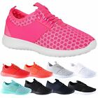 Nova Womens Lace Up Low Heels Flats Breathable Trainers Ladies Sports Pumps Size
