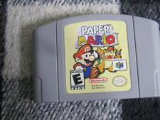 PAPER MARIO NINTENDO 64 2001 RPG  GAME CART ONLY FAST SHIPPING