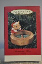 Hallmark - Across The Miles - Mouse with Compus - Clip On Keepsake Ornament