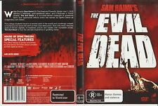 Dvd * The EVIL DEAD * 1981 R18+ Most Gruesome Cult Grindhouse Horror Movie Ever?