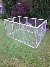 8 aviary panels for chicken run kennel ducklings rabbits guinea cat dog -pets