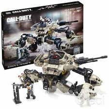 Nouveau Mega Bloks call of duty Atlas mobile tourelle building set & chiffres officiels