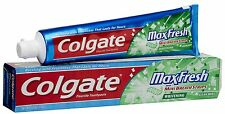 Colgate Max Fresh Toothpaste with Mini Breath Strips Clean Mint 6 Ounces
