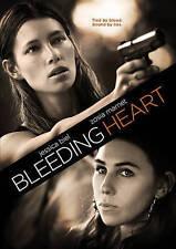 """Bleeding Heart (DVD, 2016), """"A Well Acted Gritty Thriller."""", Jessica Biel, VG!!!"""