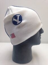 BYU Football Helmet Beanie Hat College Winter Hat Skull Cap NCAA Skins Knit Hat