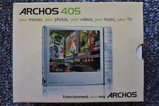 Archos 405 - Solid State Digital Media Player - MP3 - MP4 - Open Box - Bonus