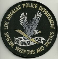Policía de los angeles los angeles * SWAT 41/54 * Police Patch SEK Patch placa de policia Patch