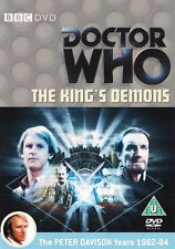 Doctor Who - The King's Demons  Dr. Who Region 2 BBC DVD  multi-regional  needed