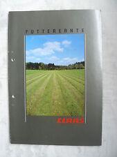 0392) Claas-aliments de récolte prospectus brochure 08.1991