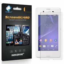 3 Membrane GENUINE Screen Protectors Protect for Sony Xperia E3 / D2202 D2203