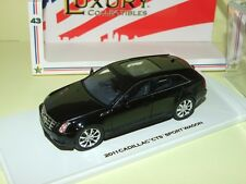 CADILLAC CTS SPORT WAGON Noir LUXURY COLLECTIBLES