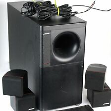 Bose Acoustimass 5 Series III Subwoofer w/ Redline Double Cube Speakers
