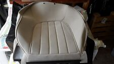 ROVER 75 FRONT LEFT SEAT COVER SEAT BACK COVER HBS000950SBR SANDSTONE AXIS