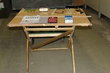 MILITARY PORTABLE PROFESSIONAL DRAFTING TABLE SET & ACCESSORIES